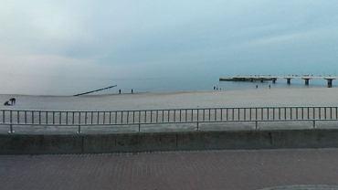 W poniedziałek część plaży w Kołobrzegu będzie zamknięta