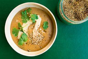 Zupa krem z pieczonych bakłażanów i bigos z dynią - przepisy Marty Dymek
