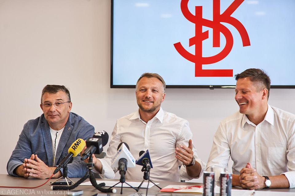 Dariusz Łyżwa, Tomasz Salski i Przemysław Andrzejak