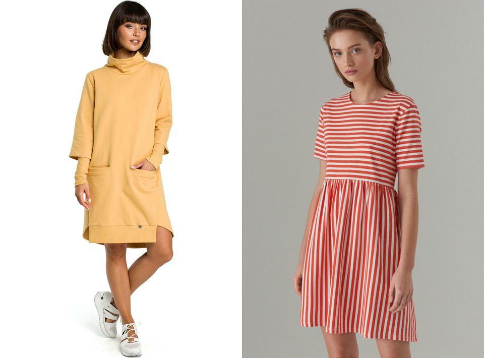 6440f2a3b7de05 Dresowa sukienka to wygodna propozycja na lato. Wybraliśmy najlepsze ...