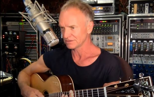 Sting Performs 'Message in a Bottle,' 'Englishman In New York,' and 'Fragile' | In My Room
