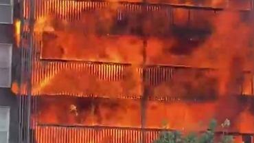 Pożar w Londynie