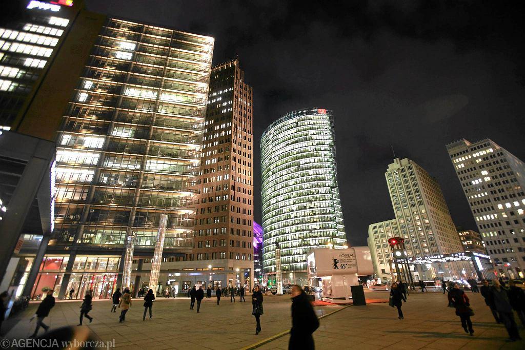 Potsdamer Platz w Berlinie / CEZARY ASZKIEŁOWICZ