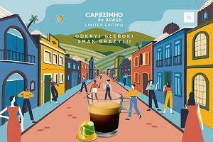 Odkryj głęboki smak Brazylii z nową kawą Cafezinho do Brasil od Nespresso