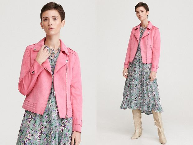 Ramoneska różowa Reserved