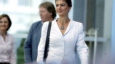 Sahra Wagenknecht liderka nowego lewicowego ruchu -  'Aufstehen'