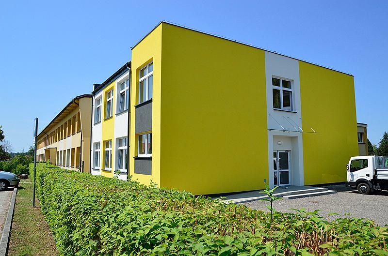 Zdjęcie numer 1 w galerii - Szkoła była za mała, urząd musiał ją rozbudować. To efekt reformy edukacji
