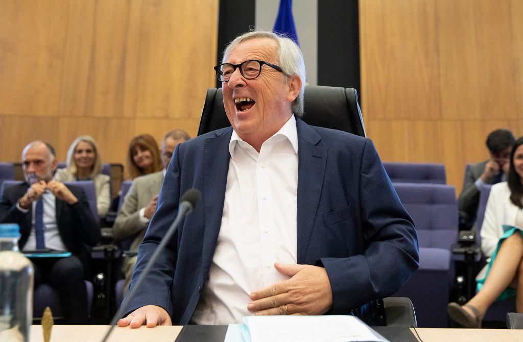 Ustępujący przewodniczący Komisji Europejskiej Jean-Claude Juncker