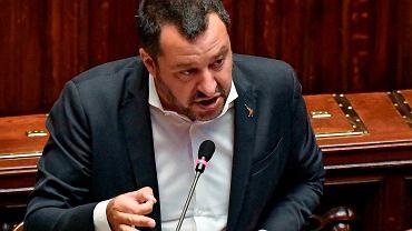 Matteo Salvini. Zdjęcie ilustracyjne