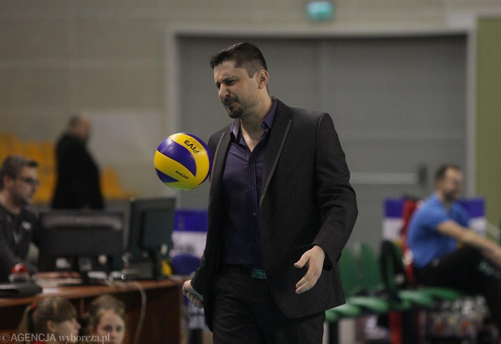 Jakub Bednaruk, trener MKS-u Będzin