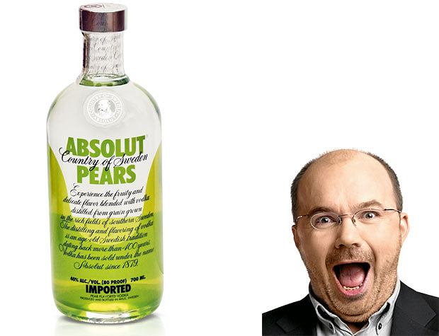 testowane matuszewskim, Testowane Matuszewskim: nowości smaczne i ohydne, Absolut pears, cena: 0,7 l - 49,99 zł