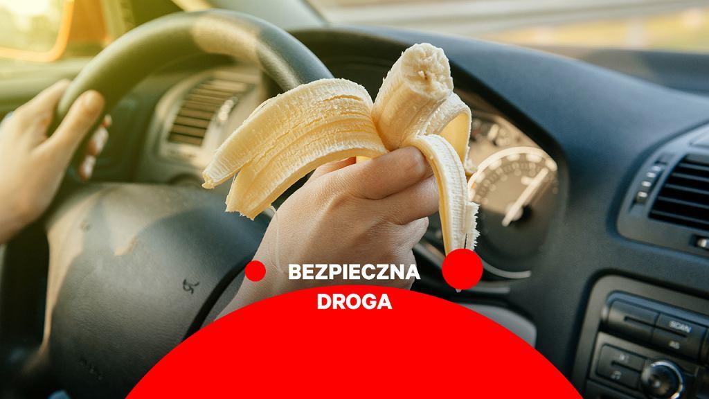 Bezpieczna droga - co jeść w trasie?