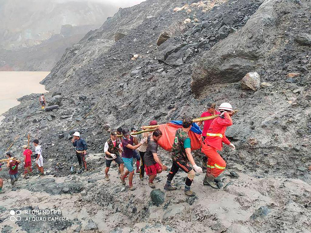 Osuwisko w kopalni jadeitu w Mjanmie zabiło 160 osób