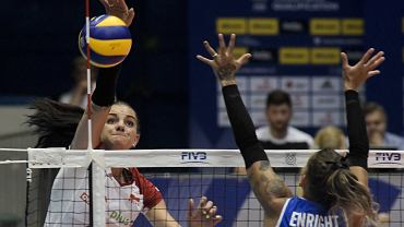Malwina Smarzek-Godek w meczu Polski z Portoryko
