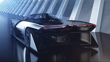 FFZER01, samochód koncepcyjny zaprezentowany na CES2016 w Las Vegas