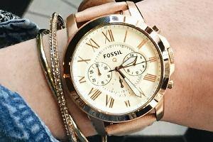 Zegarki Fossil stylizowane na modele retro - niektóre nawet 100 zł taniej