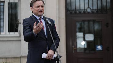 Zbignie Ziobro, minister sprawiedliwości