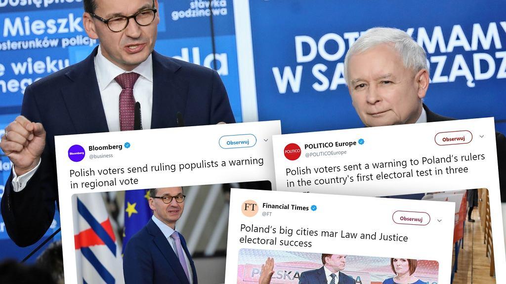 Zagraniczne media komentują wyniki wyborów 2018 w Polsce