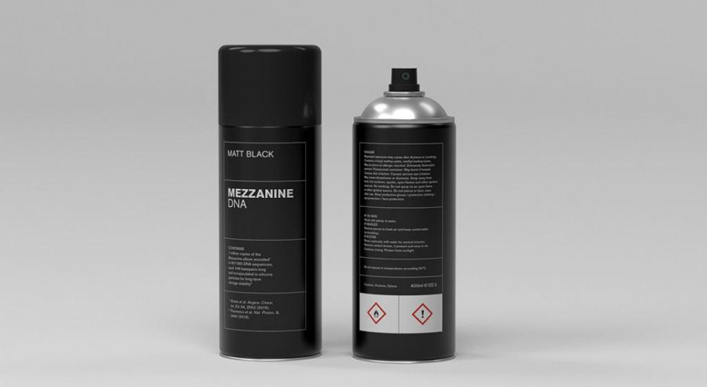 Massive Attack - 'Mezzanine' w sprayu