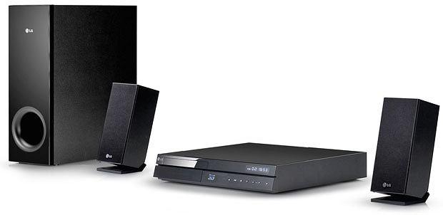 Kino domowe: zestawy na każdą kieszeń, audio, wideo, kino domowe, Kino domowe 2.1 LG BH6220C; Cena: 750 zł