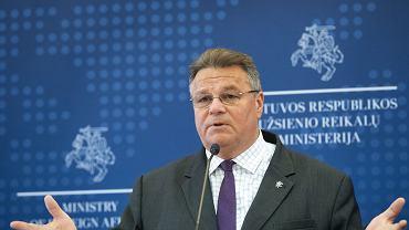 Szef MSZ Litwy Linas Linkevicius nazywa Łukaszenkę byłym prezydentem Białorusi