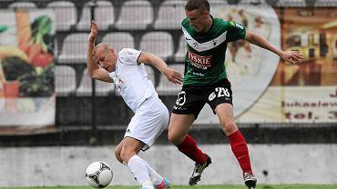 Marek Krotofil w meczu GKS Tychy - Energetyk ROW Rybnik