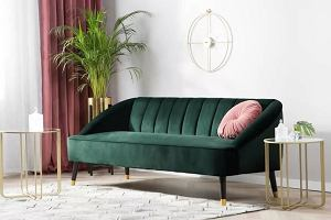Welur przeżywa renesans - krzesła, fotele i kanapy w modnej wersji