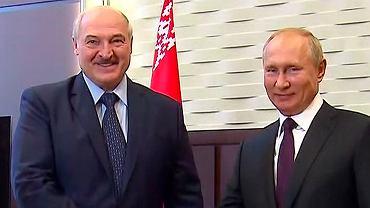 14.09.2020, Soczi, spotkanie Władymira Putina z Aleksandrem Łukaszenką