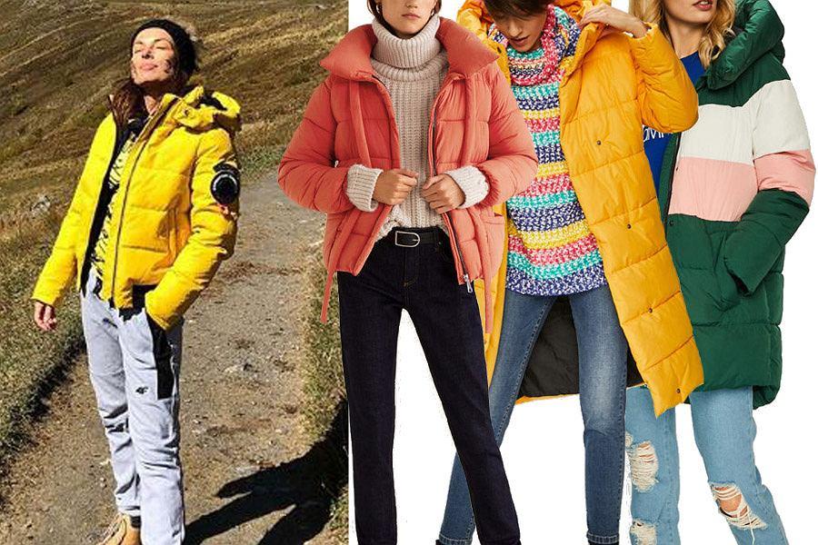 kolorowe kurtki zimowe / mat. partnera