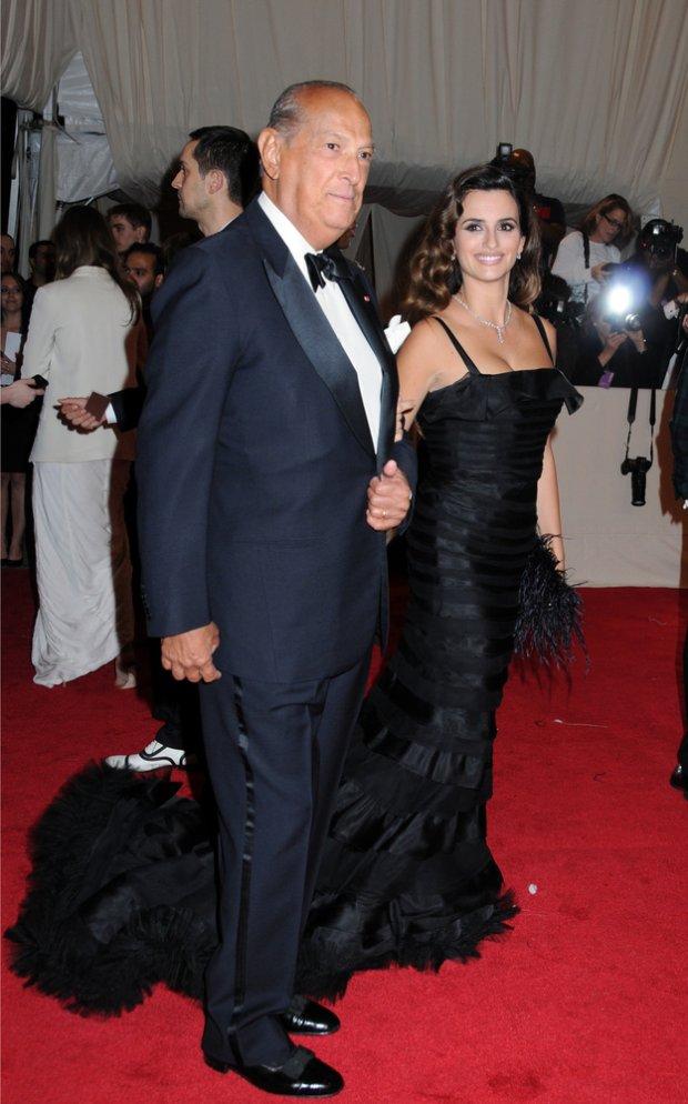 Oscar de la Renta i Penelope Cruz