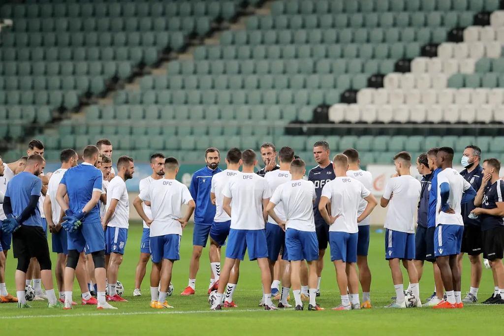 Drita Gnjilane na stadionie Legii Warszawa