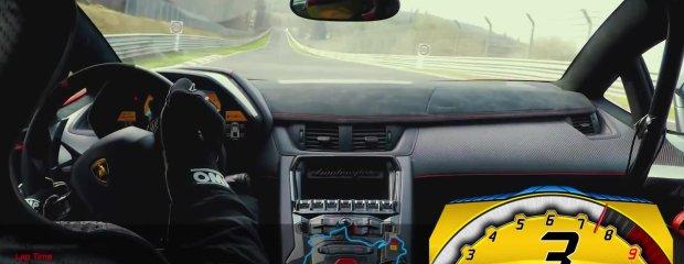 Lamborghini Aventador SV | Poniżej 7 minut na Nordschleife