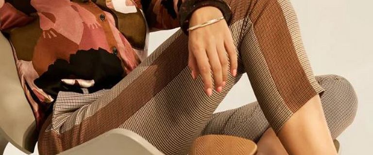 Te spodnie to niezawodny sposób na optyczne wysmuklenie nóg!