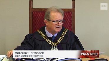 Sędzia Mateusz Bartoszek