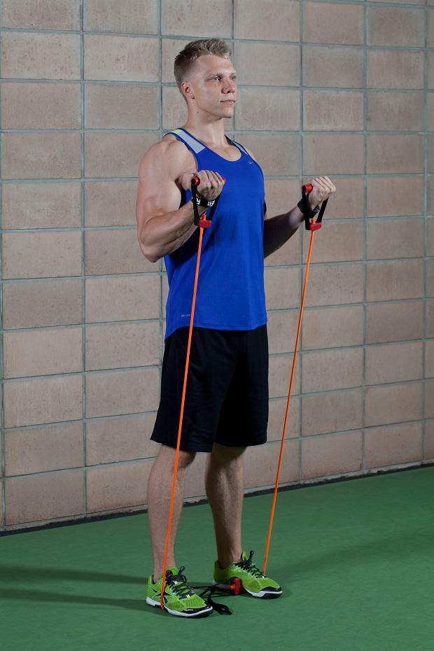 Zapraszamy biceps na modlitewnik, siłownia
