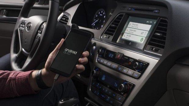 Hyunadi Sonata z Android Auto