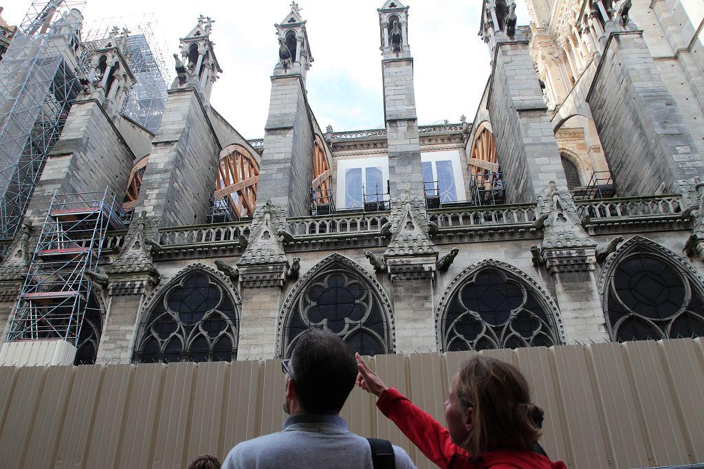 Katedra Notre-Dame w Paryżu.