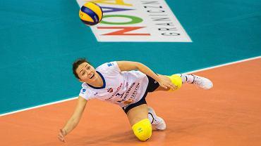 Jelena Blagojevic była najlepszą zawodniczką w półfinałowym meczu Pucharu Polski z DPD Legionovią Legionowo (3-0).