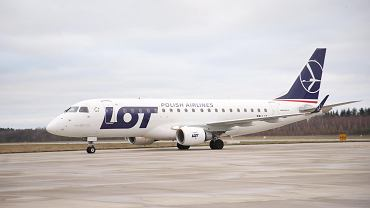 Embraer 175 w barwach PLL LOT