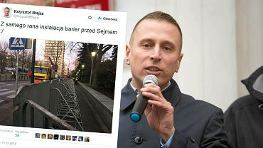 Krzysztof Brejza i jego wpis na Twitterze