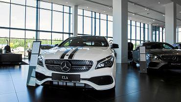 25.05.2018, Wrocław, salon samochodowy Mercedes Wróbel Group.