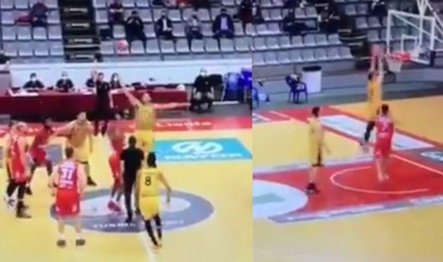 Kuriozalny początek meczu w trzeciej lidze hiszpańskiej koszykówki