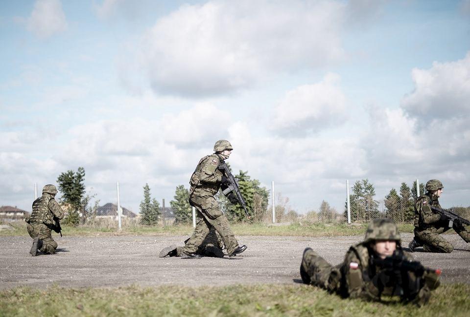 Szkolenie Śląskiej Brygady Obrony Terytorialnej