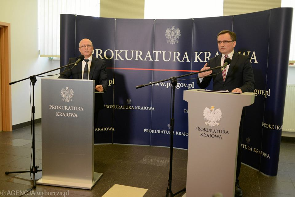 Konferencja Ziobry ws ataku na Adamowicza