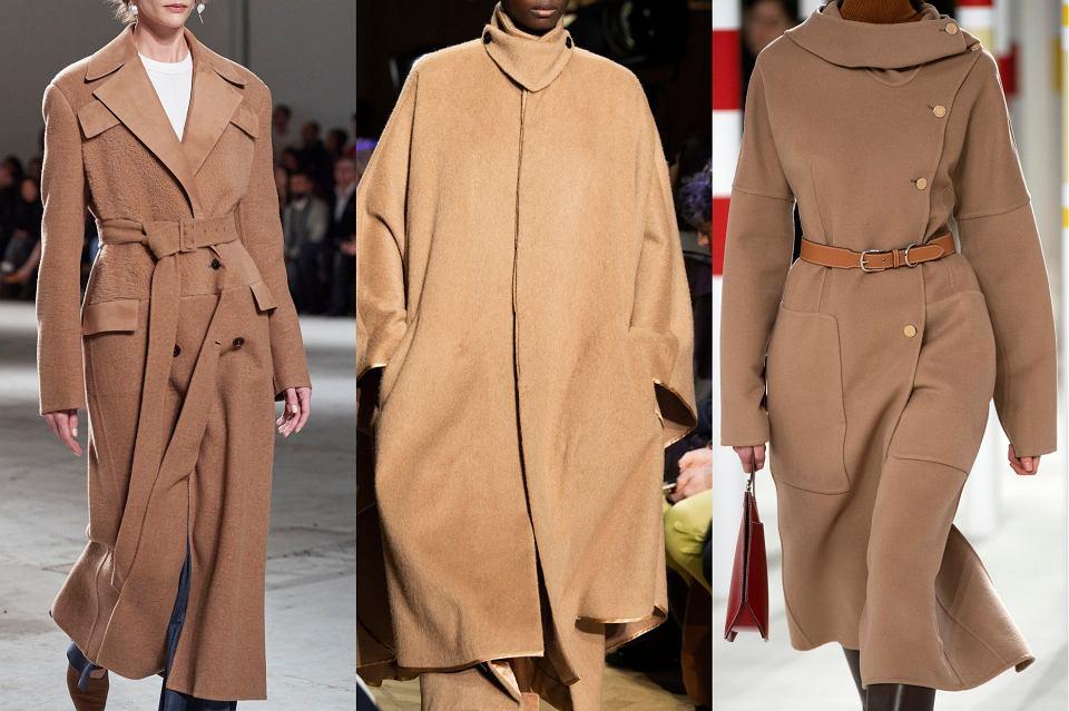 płaszcz camel