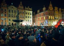 ''Sound of Silence'' na upamiętnieniu Pawła Adamowicza w Gdańsku