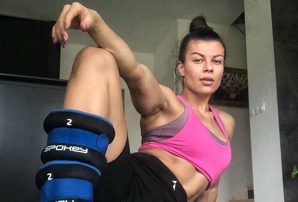 Natalia Gacka - siedem domowych ćwiczeń