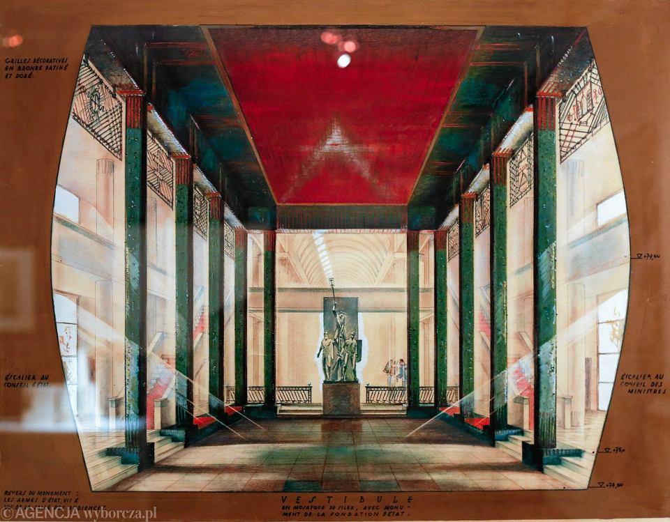 Wystawa ' Architektura niepodległości w Europie Środkowej ' w Międzynarodowym Centrum Kultury w Krakowie