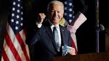 Joe Biden prowadzi w wyborach prezydenckich w USA