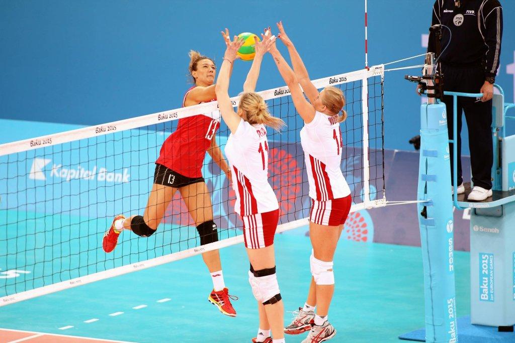 Sylwia Pycia w meczu z Turcją